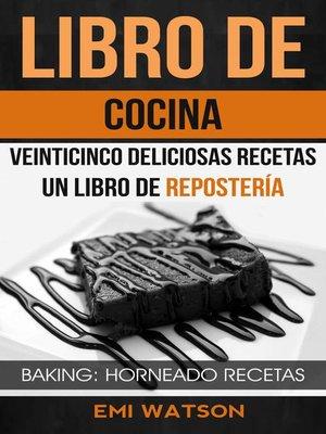 cover image of Libro De Cocina