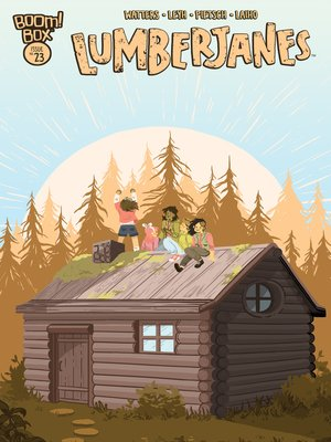 cover image of Lumberjanes #23