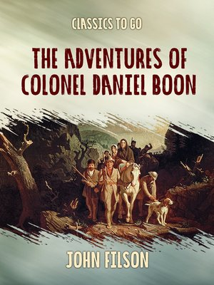 cover image of The Adventures of Colonel Daniel Boon
