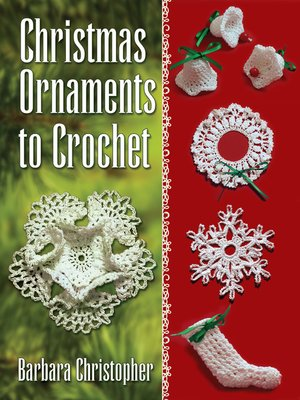 cover image of Christmas Ornaments to Crochet