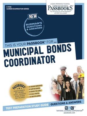 cover image of Municipal Bonds Coordinator