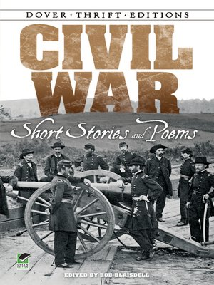 cover image of Civil War Short Stories and Poems