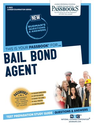 cover image of Bail Bond Agent