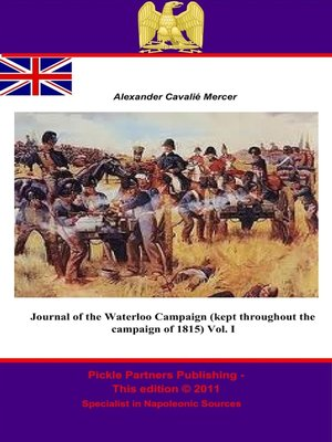 cover image of Journal of the Waterloo Campaign, Volume 1