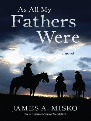 cover image of As All My Fathers Were