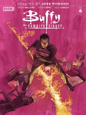 cover image of Buffy the Vampire Slayer (2019), Issue 6