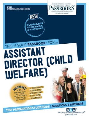 cover image of Assistant Director (Child Welfare)