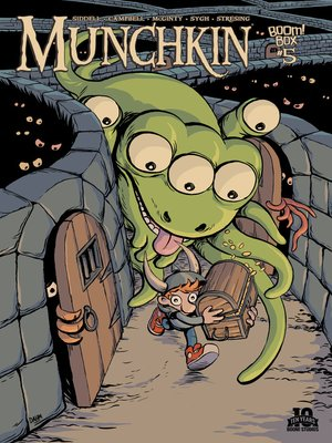 cover image of Munchkin (2015), Issue 5