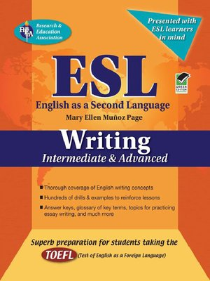 cover image of ESL Intermediate/Advanced Writing