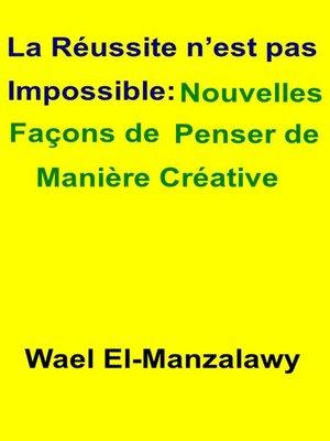 cover image of La réussite n'est pas impossible