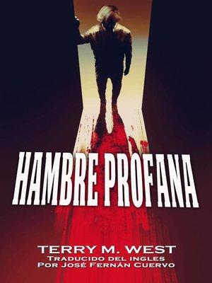 cover image of Hambre Profana