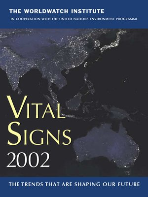 cover image of Vital Signs 2002