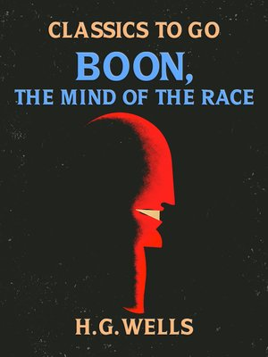 cover image of Boon, the Mind of the Race