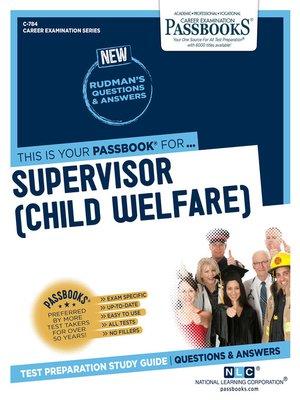cover image of Supervisor (Child Welfare)