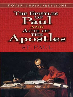 cover image of The Epistles of Paul and Acts of the Apostles