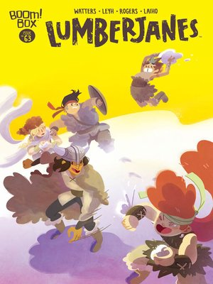 cover image of Lumberjanes (2014), Issue 63