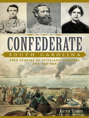 cover image of Confederate South Carolina