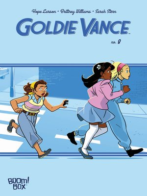 cover image of Goldie Vance, Issue 8