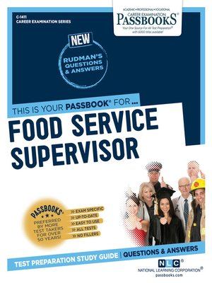 cover image of Food Service Supervisor