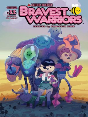 cover image of Bravest Warriors #22