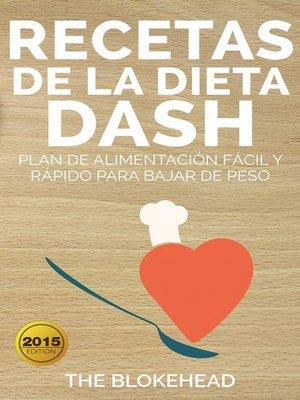 cover image of Recetas de la dieta Dash