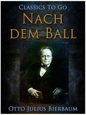 cover image of Nach dem Ball