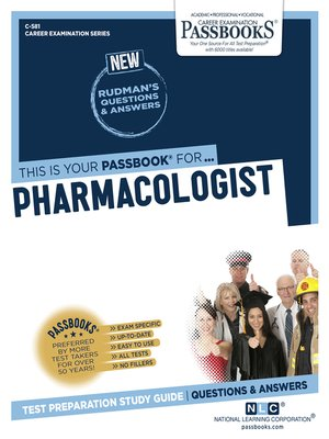 cover image of Pharmacologist