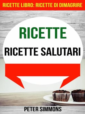cover image of Ricette