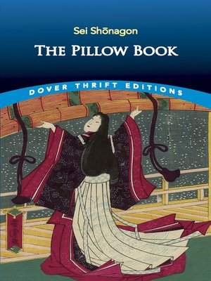 cover image of The Pillow Book