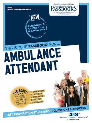 cover image of Ambulance Attendant