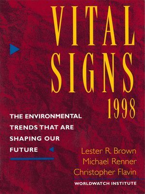 cover image of Vital Signs 1998