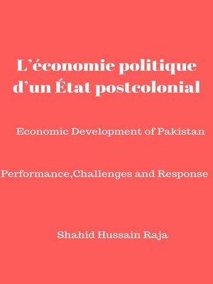 cover image of L'économie politique d'un État postcolonial