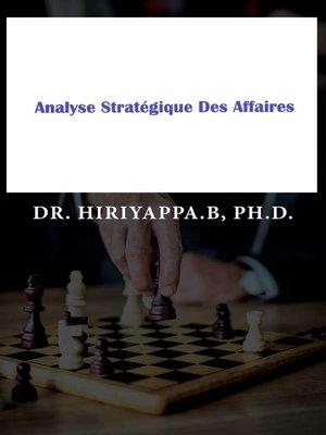 cover image of Analyse Stratégique Des Affaires