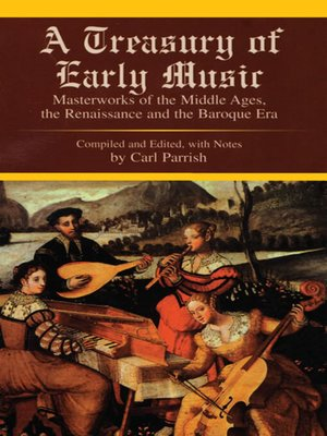 cover image of A Treasury of Early Music