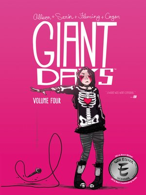 cover image of Giant Days (2015), Volume 4