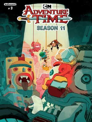 cover image of Adventure Time Season 11, Issue 3