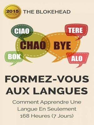 cover image of Formez-vous aux langues