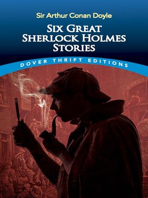 cover image of Six Great Sherlock Holmes Stories