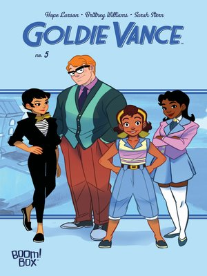 cover image of Goldie Vance #5