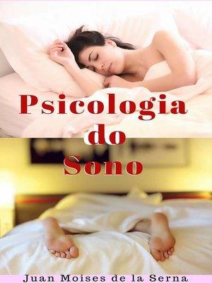 cover image of Psicologia do Sono
