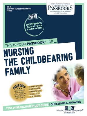 cover image of NURSING THE CHILDBEARING FAMILY
