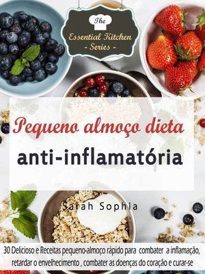 cover image of Pequeno almoço dieta anti-inflamatória