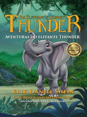 cover image of Aventuras do elefante Thunder