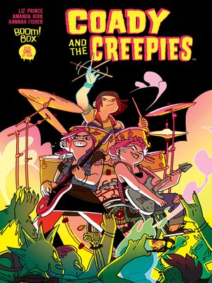 cover image of Coady & the Creepies, Issue 1