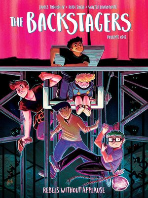 cover image of The Backstagers (2016), Volume 1