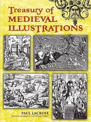 cover image of Treasury of Medieval Illustrations