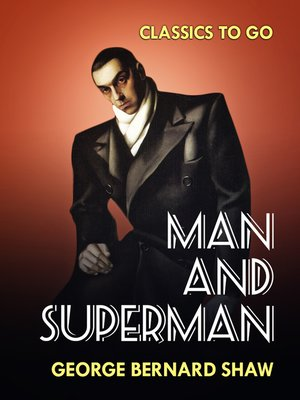 cover image of Man and Superman