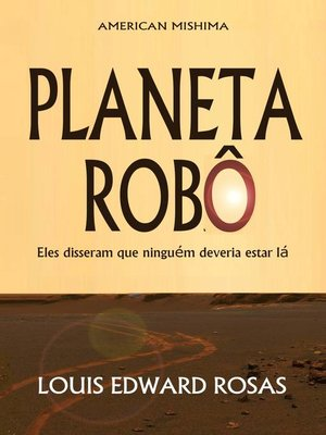 cover image of Planeta Robô