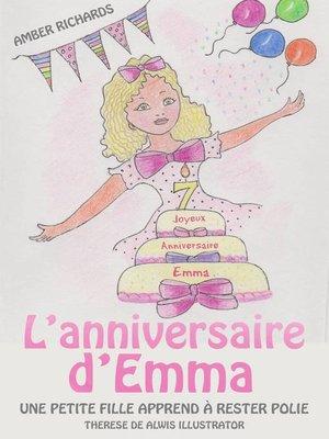 cover image of L'anniversaire d'Emma