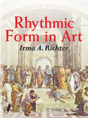 cover image of Rhythmic Form in Art